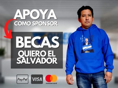 Becas para Jóvenes (QuieroElSalvador.com)